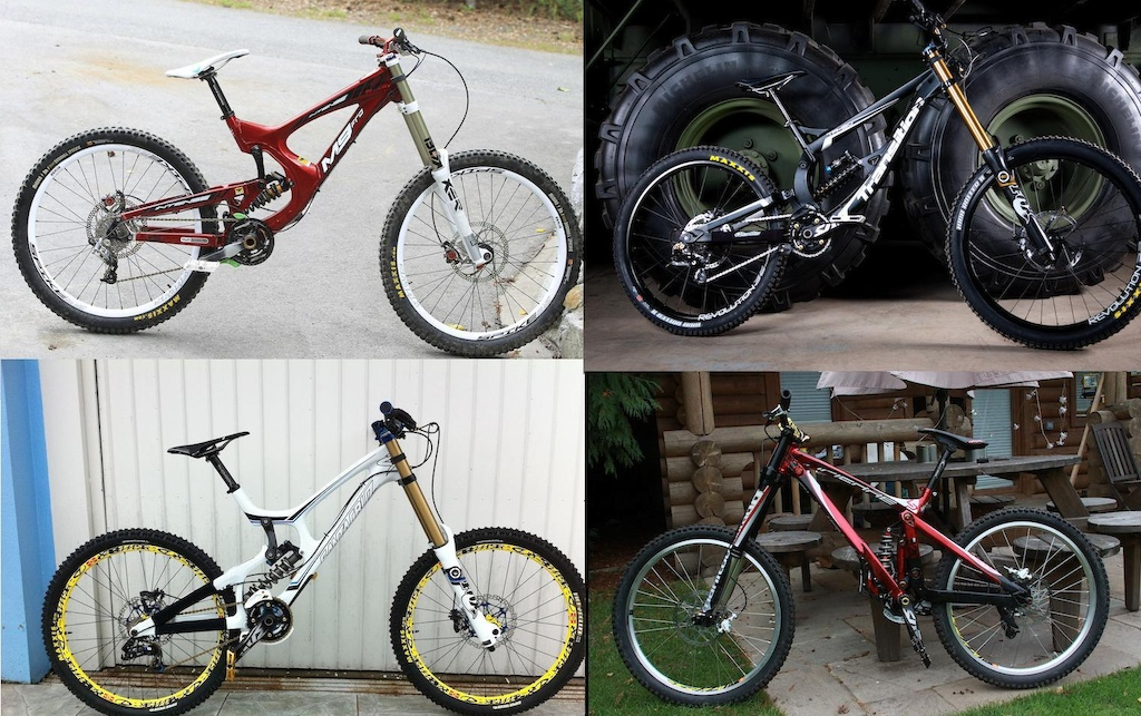 4 of the sexiest bikes out there?