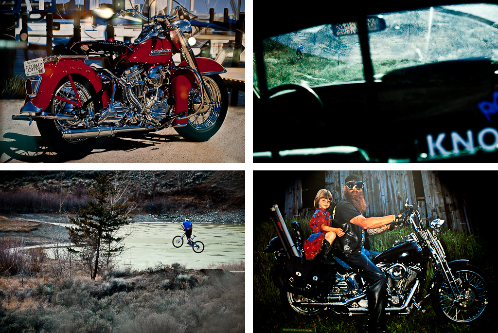 James Doerfling and lifestyle in Spences Bridge with Margus Riga.
