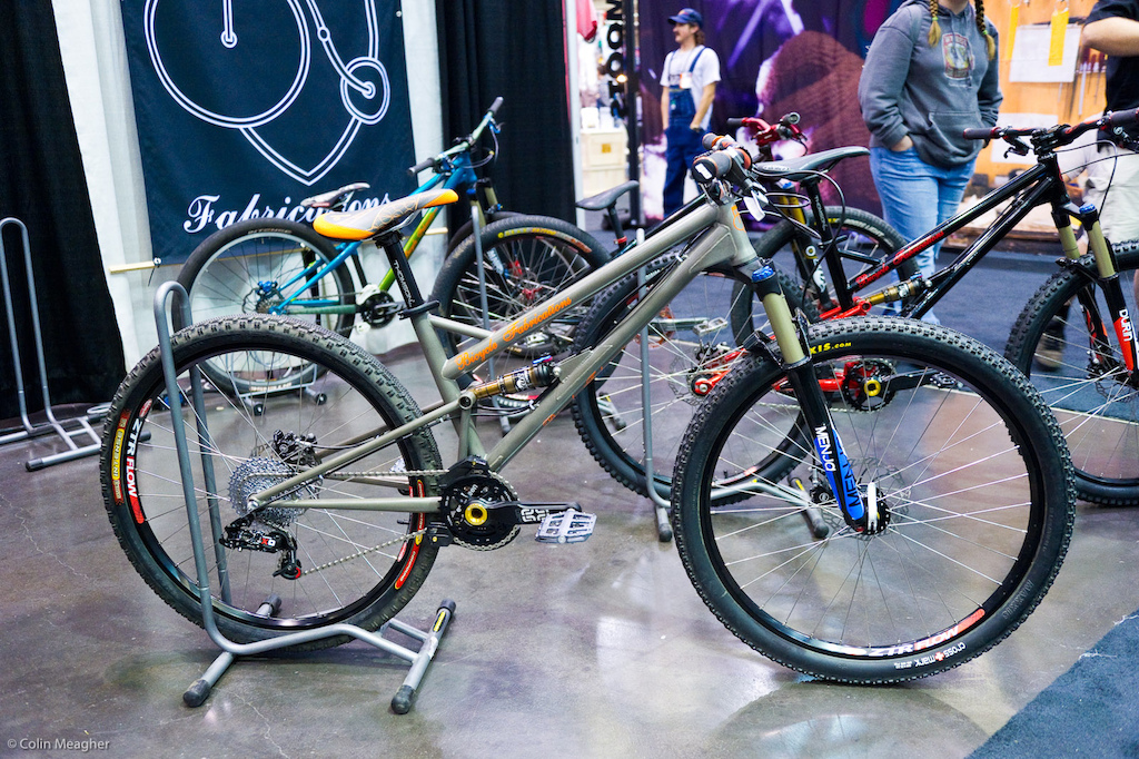 """Bicycle Fabrications """"Candyman"""" single pivot steel 4X DS Dirt Jump bike featuring a Unified Rear Triangle."""