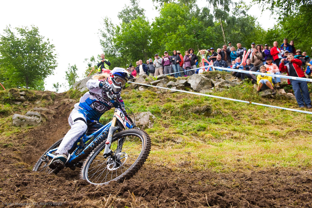 Healthy. This could be the return of Rachel Atherton to top form. The switch to GT may have her off pace for the first couple races but I doubt it she s had plenty of training time on the new sled. Remaining healthy will likely be her only concern.