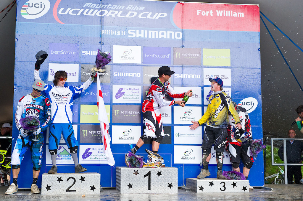 Brook MacDonald got a taste of the podium at Fort William. And he liked it. A lot. He seems to have adapted to the new Mondraker he s aboard and he s comfortable within the MS team structure. Bulldog will be a consistent podium threat for the season.
