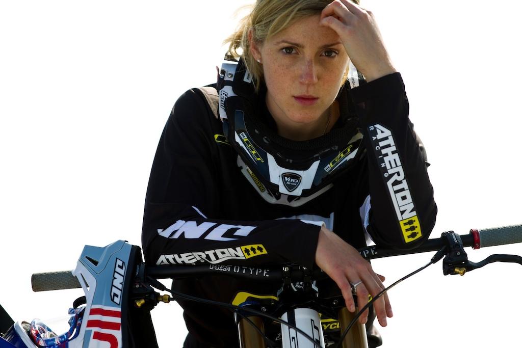 Rachel Atherton - press photos by Sven Martin