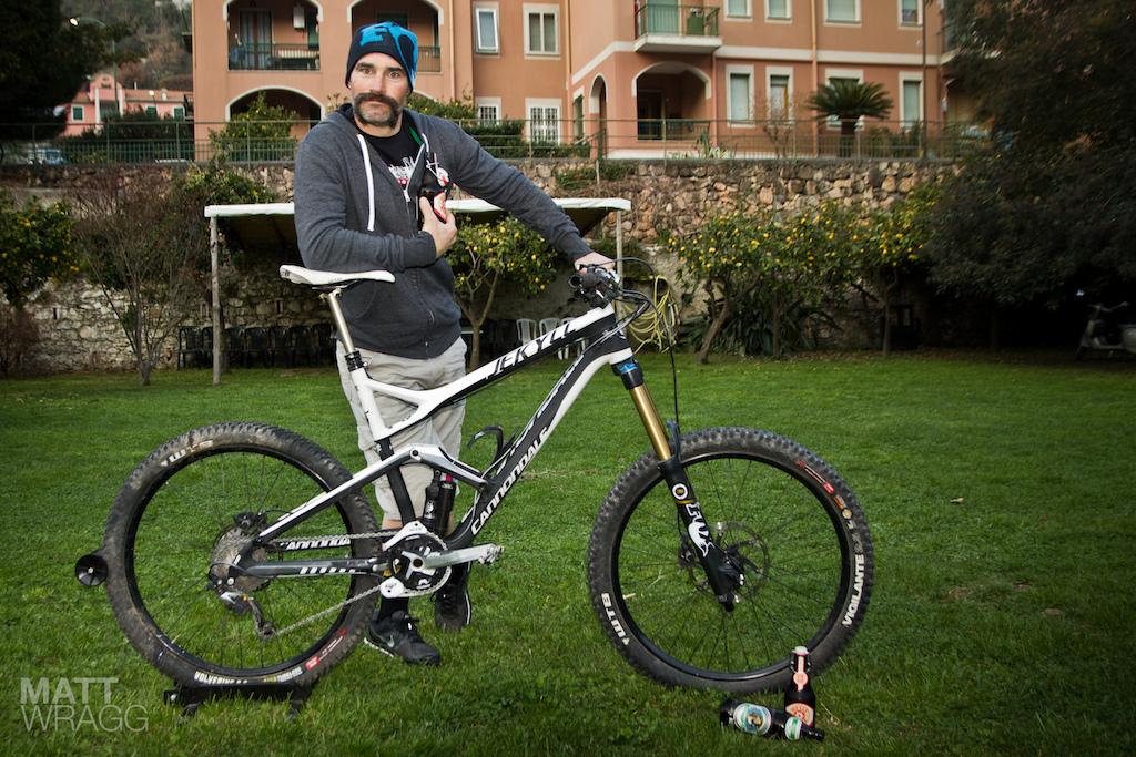 Mark Weir's Cannondale Fulcrum race bike.