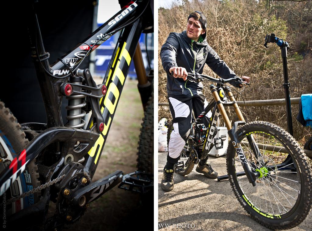 Scott Downhill Bike Prototype Pinkbike