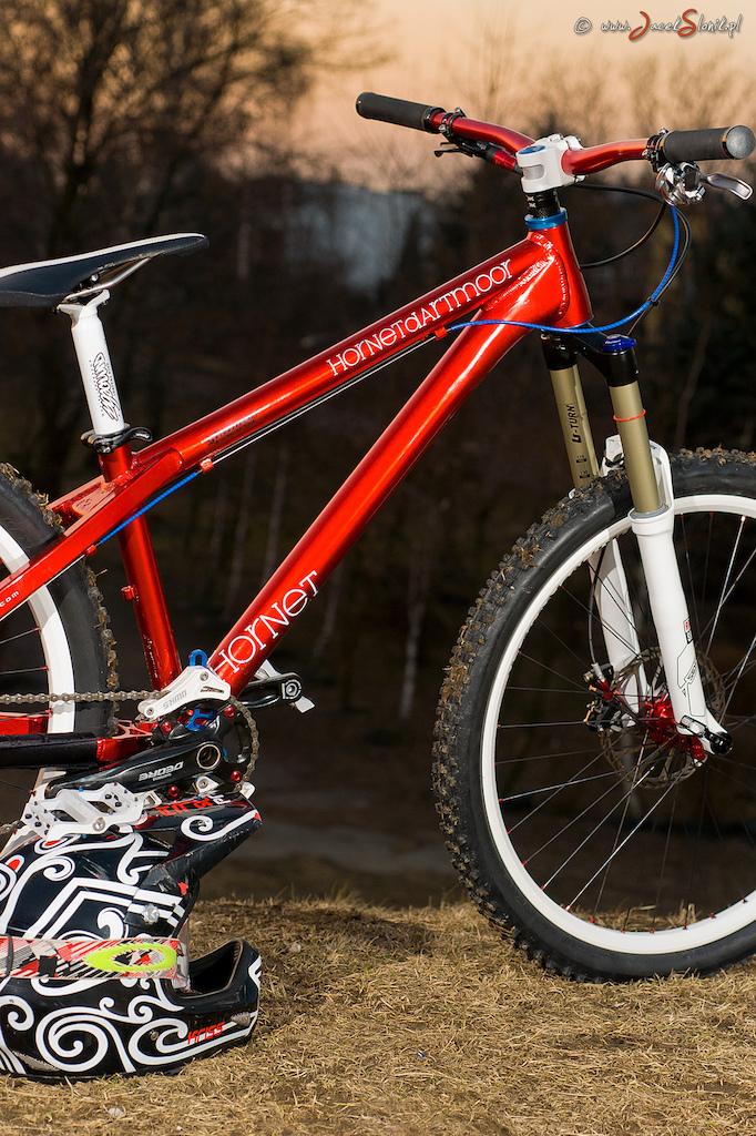 my new bike - Dartmoor HORNET