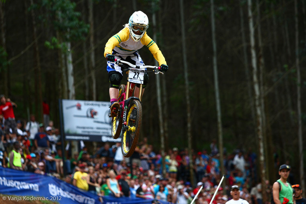 ...during UCI World Cup 2012