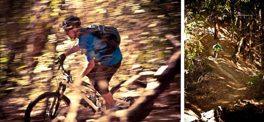 Mike Levy and Tyler Morland on 2013 SRAM Grip Shift shifters.