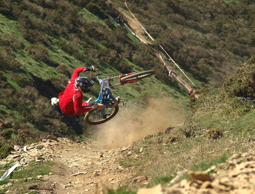 3.2.1...we have lift off...... Fetish Downhill Series
