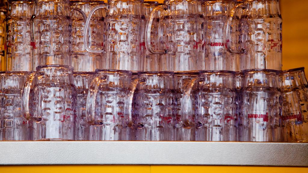 1 liter glass
