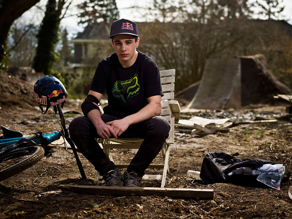 Anthony Messere at his training compound in Surrey BC Canada during the filming of Anthill s new film Strength In Numbers March 17 2012. Photo by Sterling Lorence
