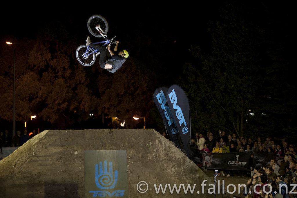at the 2012 Queenstown Bike Festival Teva Slopestyle
