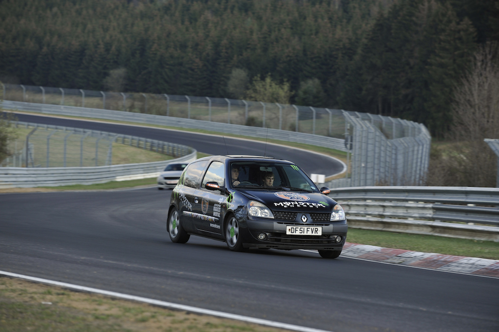Driving round the nurburgring, No licence, like a boss.