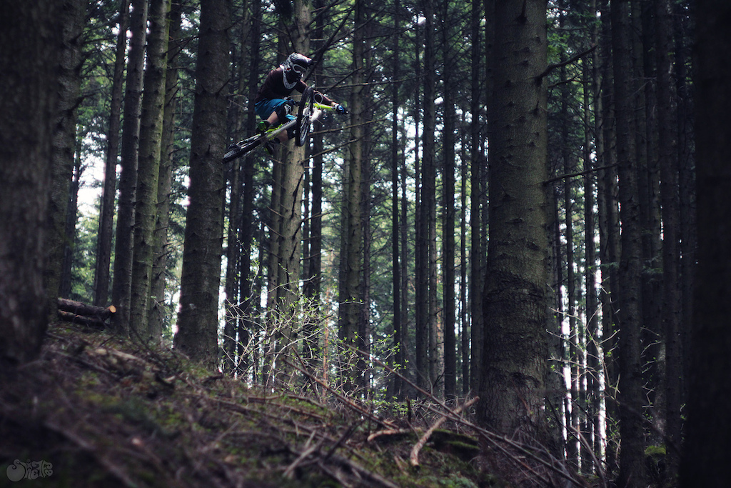 flying high in woods photo by www.sheiffa.blogspot.com  Follow me: http://www.facebook.com/Jaws.Freerider