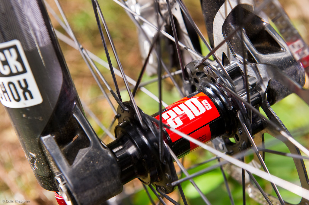 The DT Swiss hubs are a rock solid performer--perfect for training.