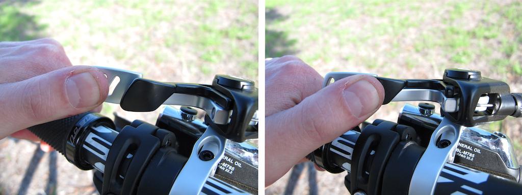 FOX D.O.S.S. dual lever remote