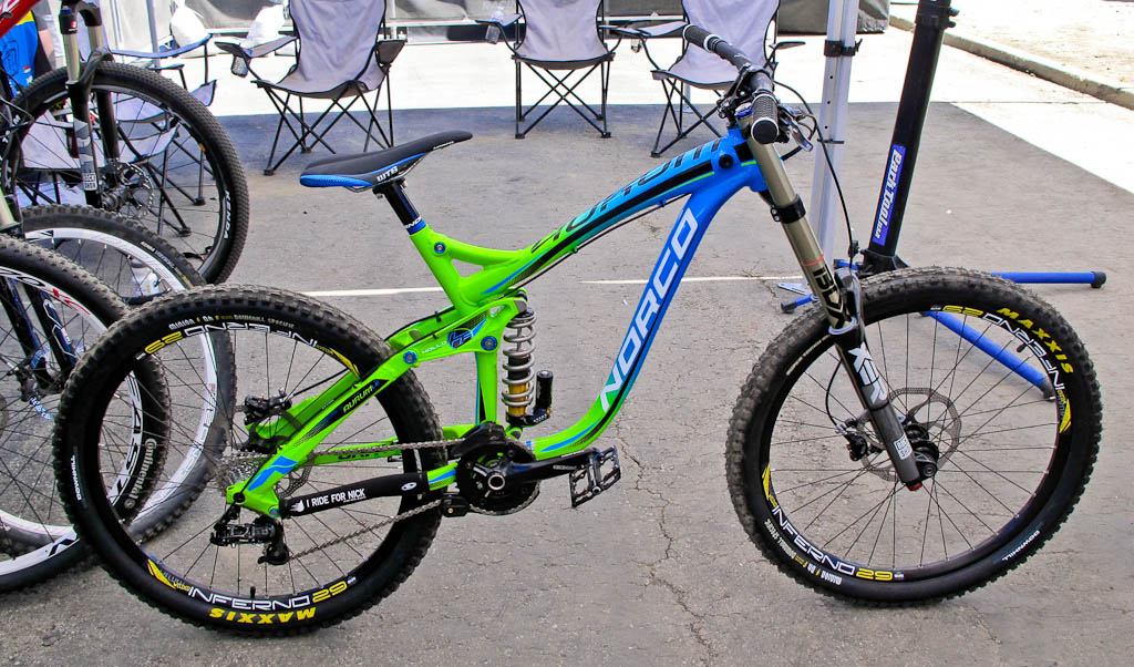 2013 Norco Aurum LE with the best in show paint job.