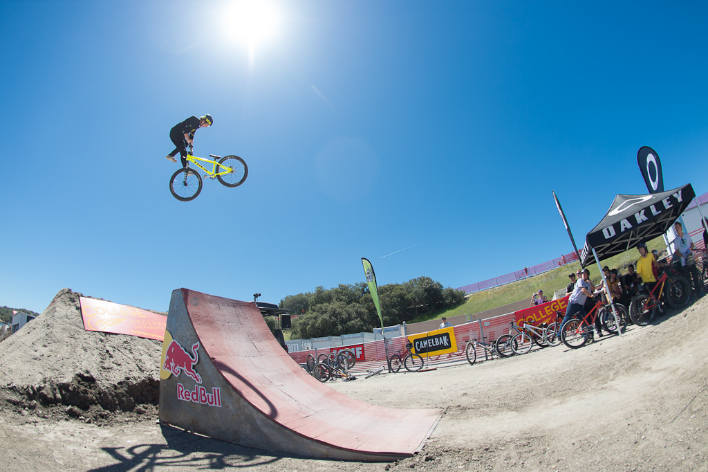 Brett Rheeder at the Sea Otter Rain or Shine Jam