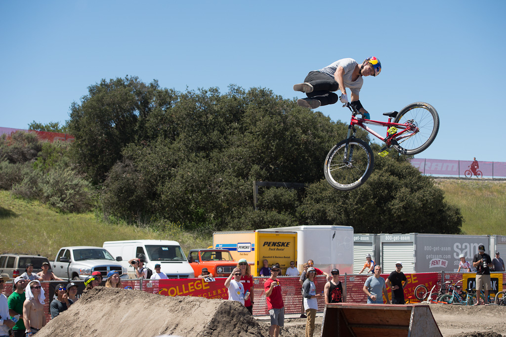 Martin Soderstrom at the Sea Otter Rain or Shine Jam