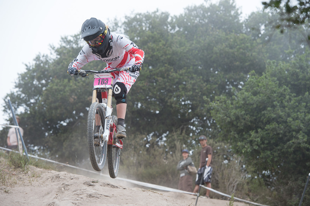Manon Carpenter is set up for a good season. Second place in the World Cup season opener in South Africa and now third at Sea Otter.