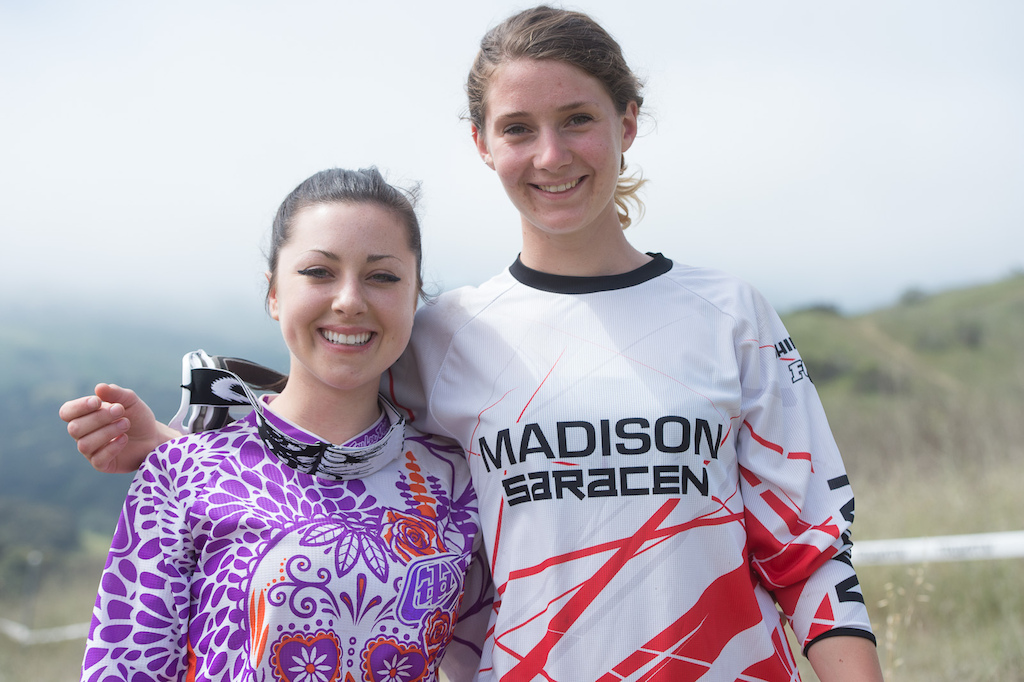 Young girls coming up in the ranks this year. Holly Feniak and Manon Carpenter both made the podium this year.