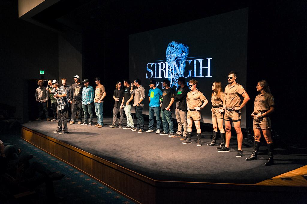 Strength in Numbers movie premier in Monterey.