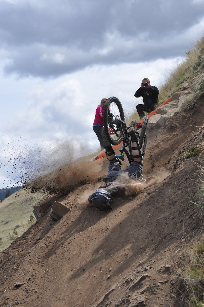 Kamloops KBR Race The Ranch Crash