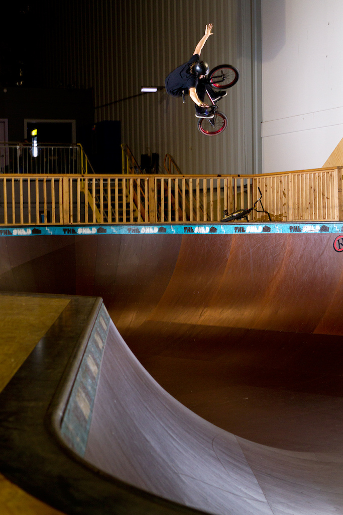 Large tuck air in the bowl at The Shed