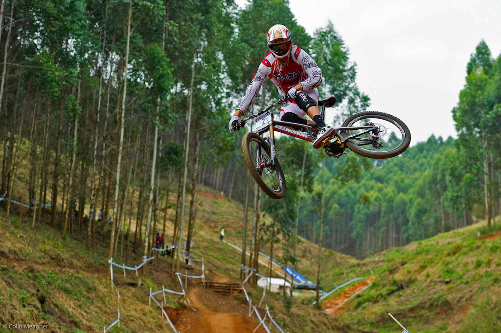 Greg Minnaar - Santa Cruz Syndicate uses King Hubs and Headsets