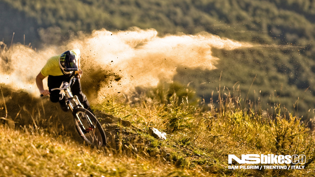NS Bikes wallpaper featuring Sam Pilgrim