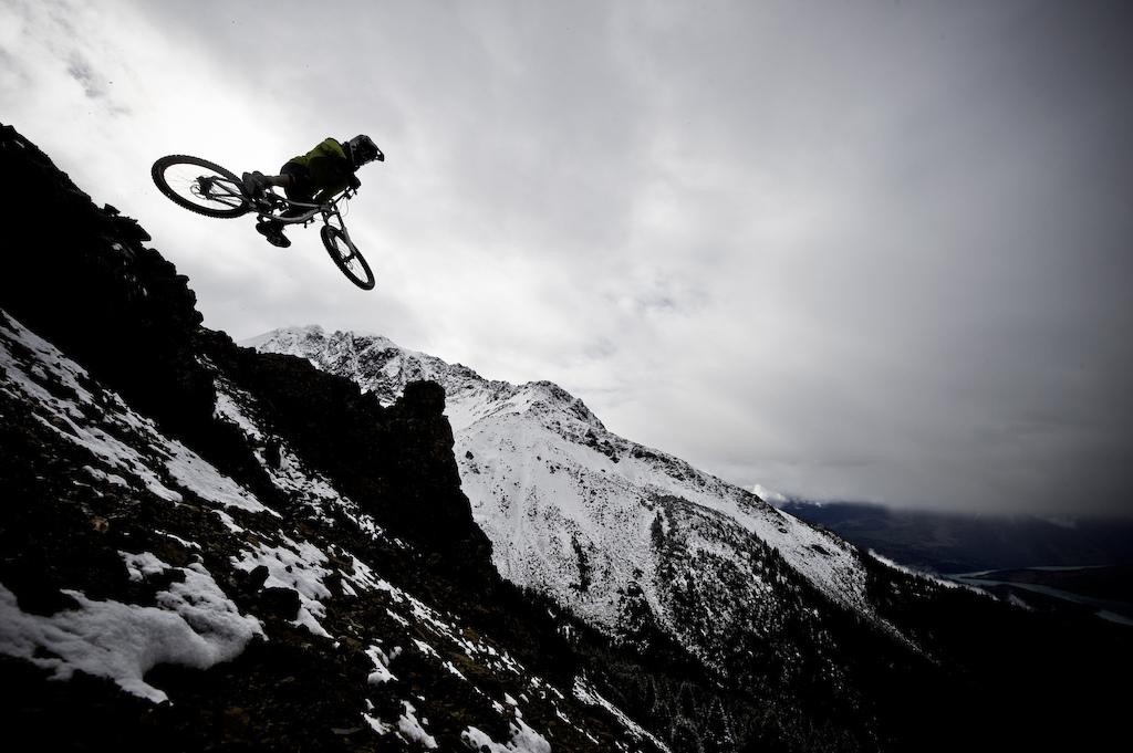 Heli bike in Bralorne BC for Kona bikes. Photo Blake Jorgenson