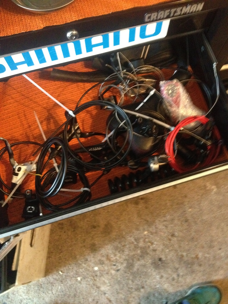 More tangle of wires!