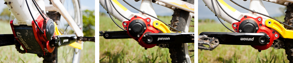 Riding the Alutech Fanes equipped with a Pinoin gearbox