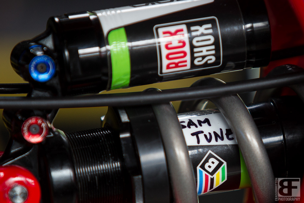 You know you re fast when you have your own Rock Shox tune.