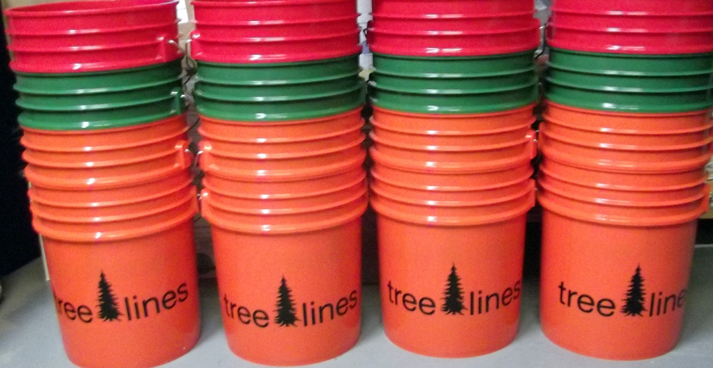 buckets has been a way to give back to local build clubs. these are all over the place around these parts.