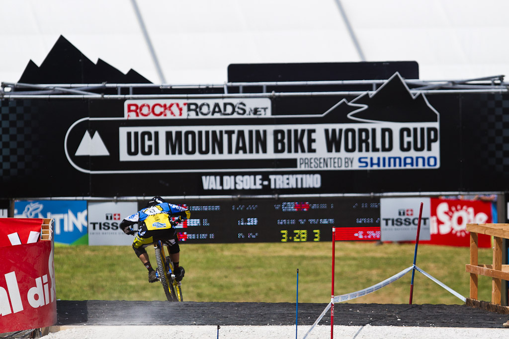 Team CRC at the World Cup in Val Di Sole