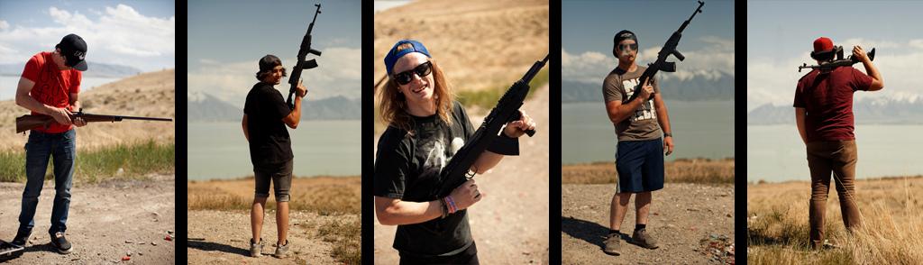 Shooting Guns in utah
