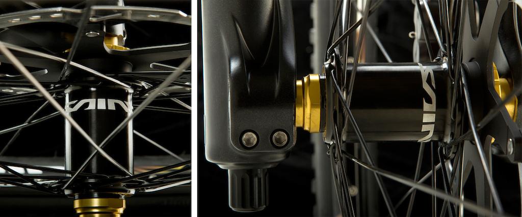 Shimano Saint front and rear hubs