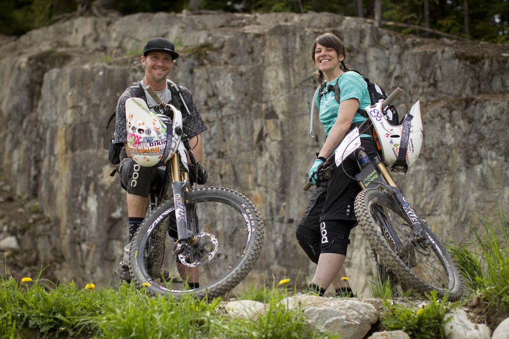 Endless Biking with 2012 Shimano Saint launch in Whistler British Columbia