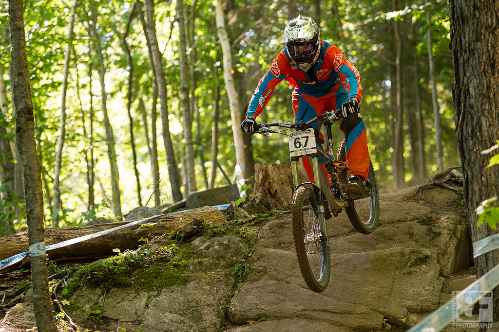 Dinner conversation was how Norco's Ben Reid has somehow not wound up on a World Cup podium. The wild Irishman absolutely kills in in every single practice session, yet can't put it together on race day. Everyone loves the flying leprechaun, hopefully he can put one together this week.
