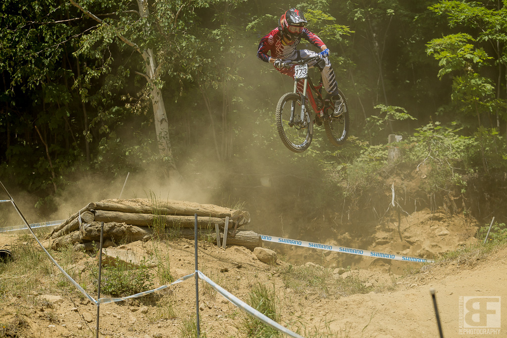 Cody Kelley is young and this is his first race at the legendary MSA. No stress, he's still having the time of his life getting sideways on a jump many people were struggling to get backside on.