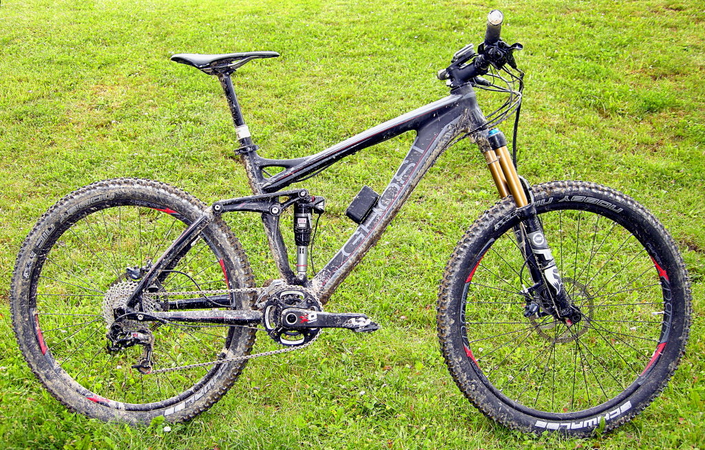 Ghost AMR with e.i electronic suspension and RockShox Monarch RT3 shock
