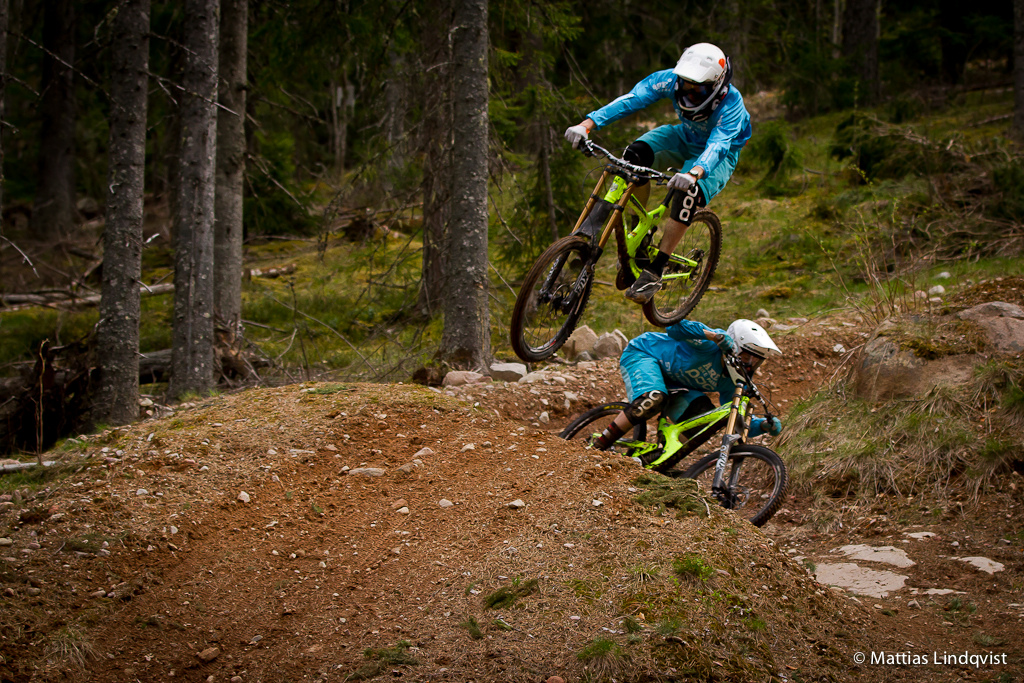 Photosession with Team Are bikepark....
