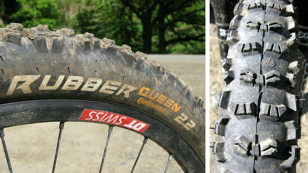 Continental Rubber Queen tire