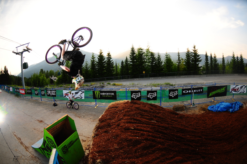 backflip Photo by Stewart Medford