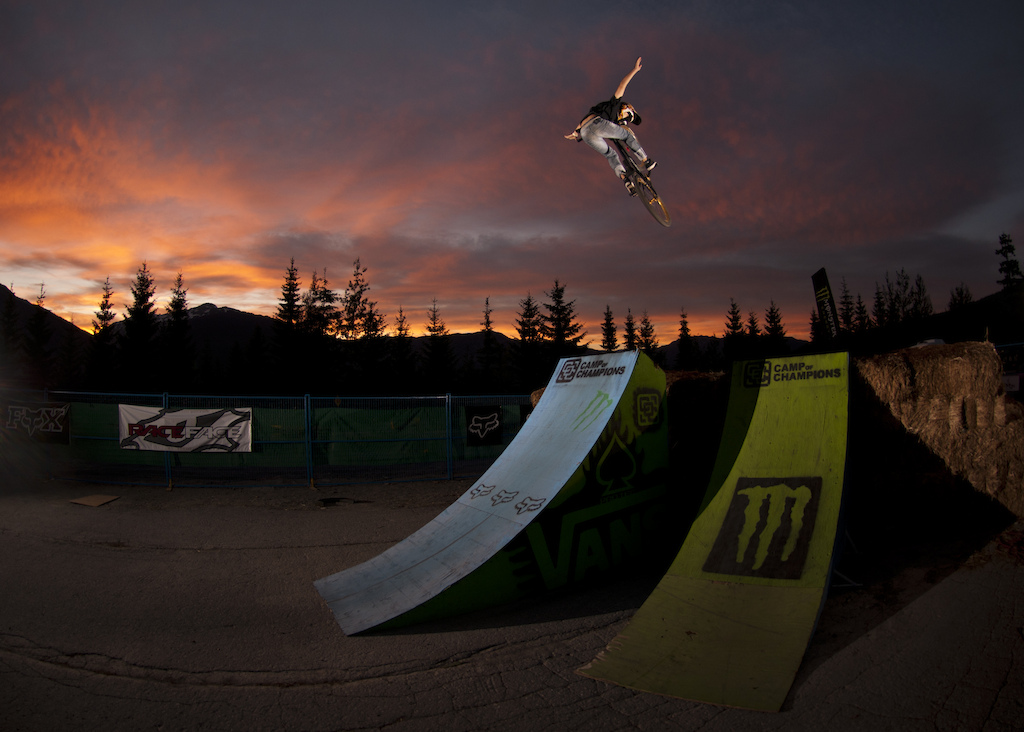The Compound at The Camp of Champions, is our private training zone. It has a Big Air Bag a multitude of wood jumps, landings, jump lines, and an amazing mulch pit. Get coached by top pros like Justin Wyper, Brendan Howey, Jack Fogelquist, Mitch Chubey, Paul Genovese, Jarrett Moore, Reece Wallace, Wink Grant, Beth Parsons, Brett Tippie and many more ... This is where you want to be riding this summer.