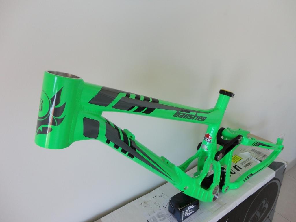 Banshee Legend MK2  2013 collection  Green