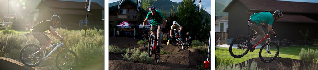 Riding Porter s backyard at the Diamondback 2013 product launch