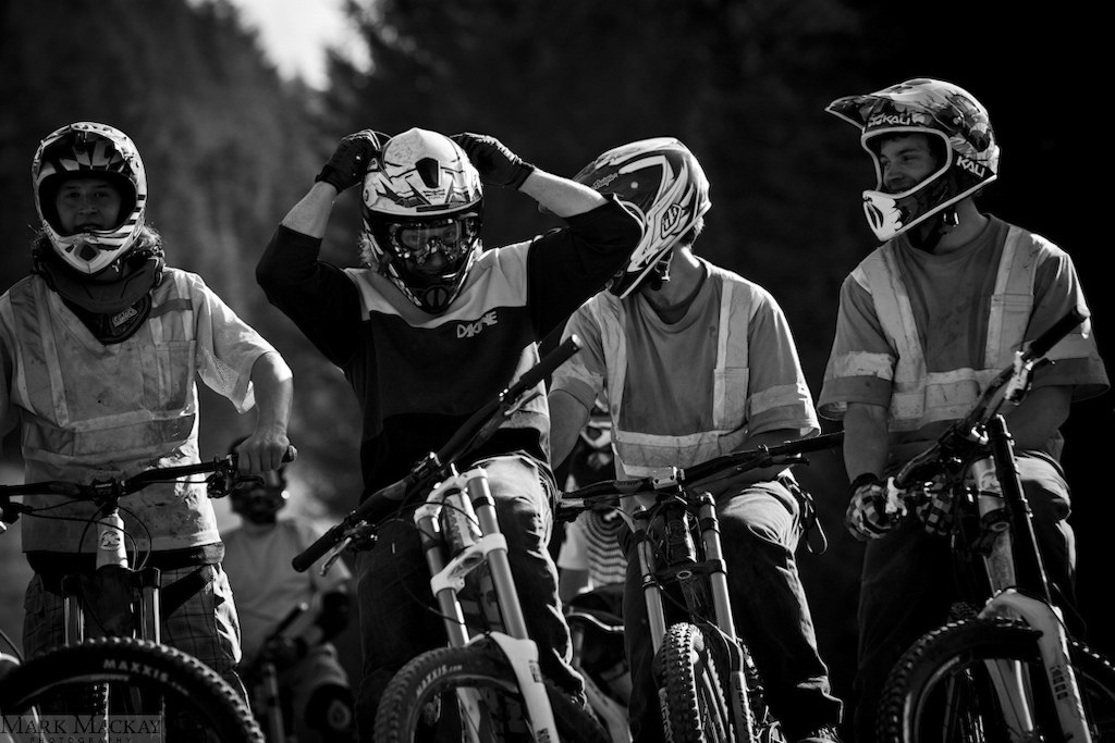 Trail Crew boys teeing up another run down the Biker X while filming for DEDICATION.