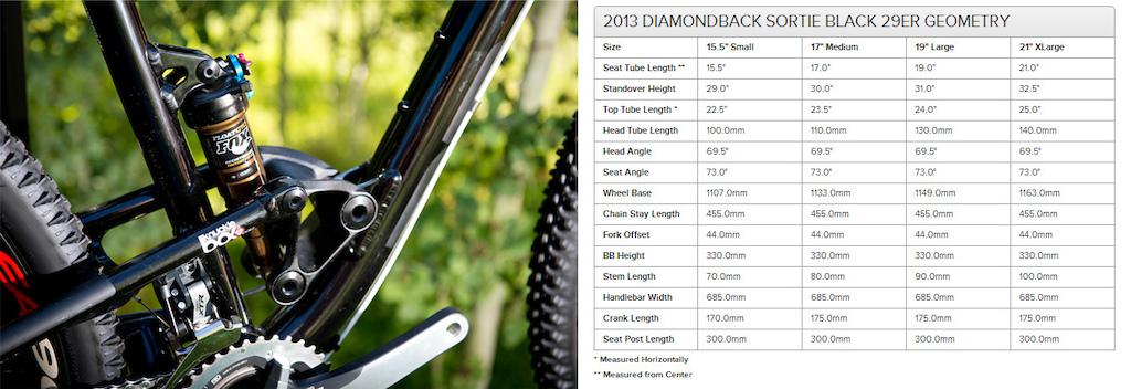 2013 Diamondback Sortie Black 29 er