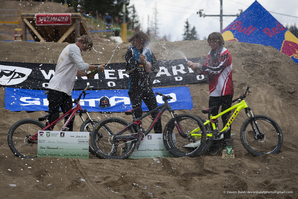 The win today at the Colorado Freeride Festival makes Brandon's fifth win in a row on the FMB.